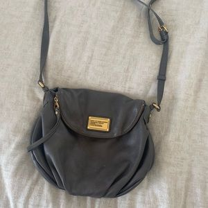 Marc Jacobs grey cross body purse
